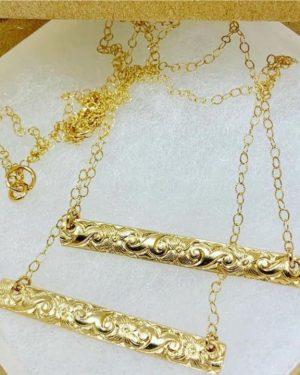 Gold Hawaiian heirloom bars